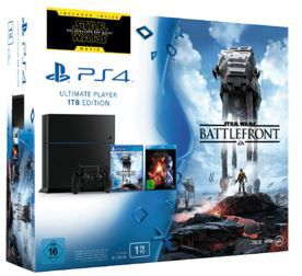 Battlefront PS 4 PlayStation 4 Konsole ab 249€ dank 100€ Sofort Rabatt Aktion auf ausgewählte PS4 Konsolen und Bundle