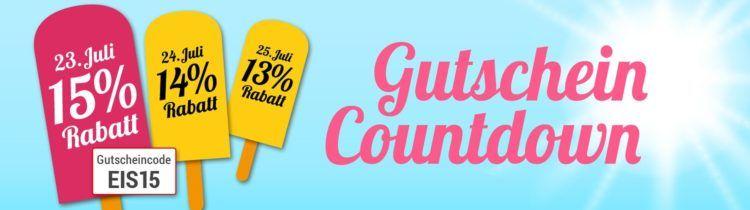 Gutschein Countdown bei Weltbild   heute mit 15% Rabatt