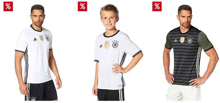 EM Sale (Trikots, Hosen etc.) + 10% Gutschein + 24h Lieferung für 1€ + ggf. 15€ & 5% Neukunden Rabatt