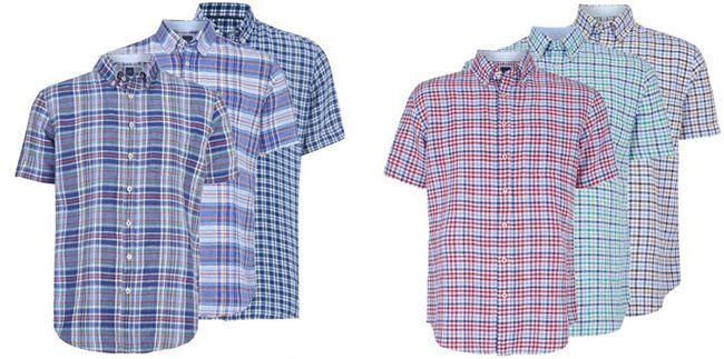 Christian Berg Freizeit Hemden für je 12,95€