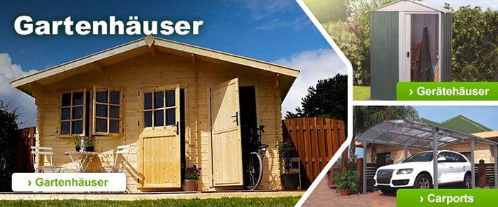 10% Rabatt auf alle Garten  und Gewächshäuser bei GartenXXL