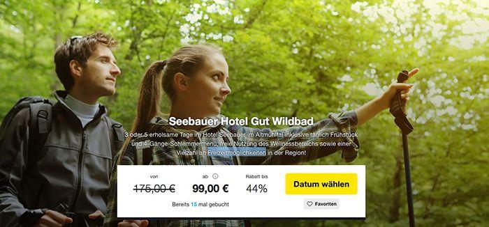 3 5 Tage Altmühltal im 3* Hotel mit Frühstück & 4 Gang Menü ab 99€ p.P.