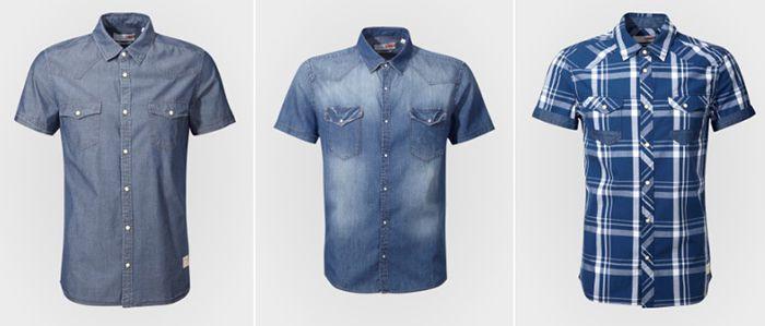 25% Rabatt beim Kauf von 2 Mustang Hemden oder Blusen