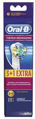 4er Pack Braun Oral B Aufsteckbürsten Tiefen Reinigung ab 9,93€ (statt 14€)