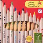 12er Pack Herlitz Trilino Buntstifte aus FSC Holz ab 1,75€ (statt 3€)