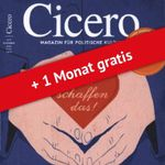 12 Ausgaben Cicero Autorenzeitschrift statt 113€ für 24,95€