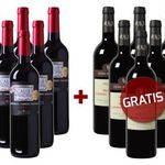 6 Flaschen französischer Wein gratis zur Weinvorteil Bestellung