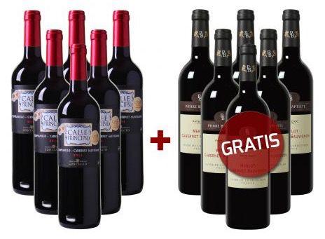 Bildschirmfoto 2016 07 07 um 08.56.43 6 Flaschen französischer Wein gratis zur Weinvorteil Bestellung