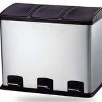 36 Liter Tret-Mülleimer 3-teilig für 39,99€ (statt 48€)