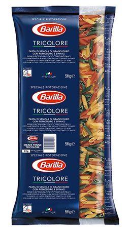5kg Barilla Mezze Penne Tricolore n. 78 für 3,59€   Plus Produkt