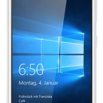 Microsoft Lumia 650 LTE – Windows 10 Smartphone in Weiß für 115€ (statt 140€)