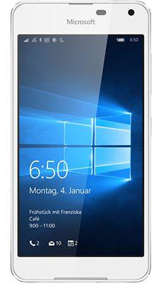 Microsoft Lumia 650 LTE   Windows 10 Smartphone in Weiß für 115€ (statt 140€)