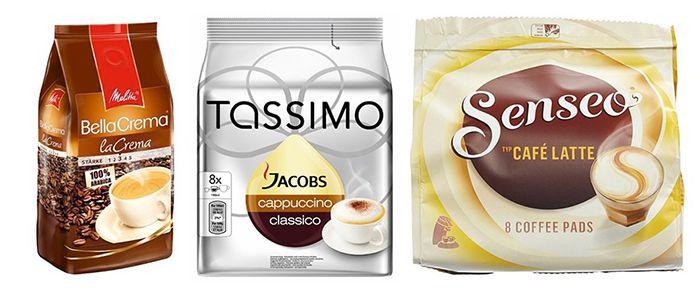 Kaffee im Amazon Prime Day   Tassimo, Bohnen & Senseo