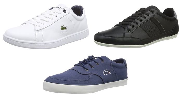 Lacoste Sneaker ab 40,99€ am Amazon Prime Day   z.B. Lacoste GLENDON für 41€ (statt 67€)