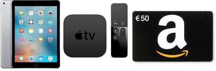 HOT! Neue Mein Deal App downloaden   dafür iPad Pro, Apple Tv + Amazon Gutscheine gewinnen   UPDATE!