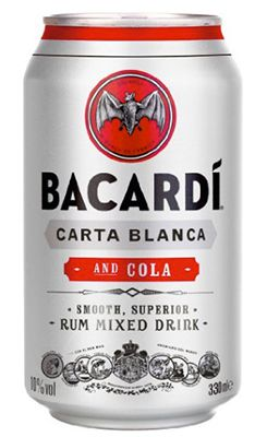 12er Pack Bacardi und Cola Rum 0,33 ab 14,36€ (statt 20€)