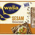 10er Pack Wasa Sesam Gourmet Knäckebrot ab 9,87€ (statt 20€)