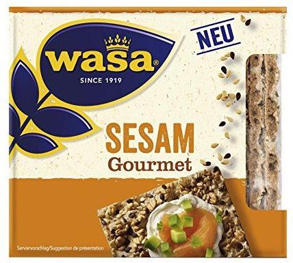 Bildschirmfoto 2016 07 14 um 09.44.09 10er Pack Wasa Sesam Gourmet Knäckebrot ab 9,87€ (statt 20€)