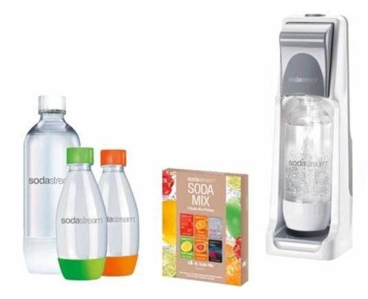 Bildschirmfoto 2016 08 02 um 10.06.38 Sodastream Cool Trinkwassersprudler Megapack für 47,95€ (statt 55€)