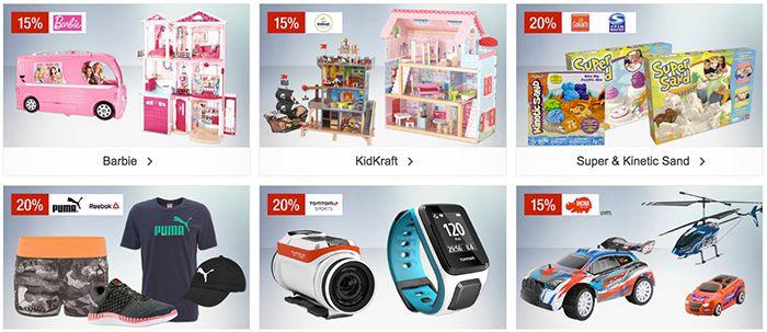20% auf emsa & Puma/Reebok und mehr Galeria Kaufhof Sonntagsangebote
