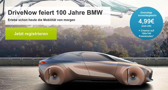 Bildschirmfoto 2016 09 05 um 09.28.39 DriveNow Anmeldung für nur 4,99€  (statt 29€) + Chance auf 100 Freiminuten