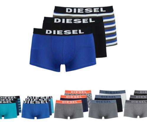 3er Pack Diesel Boxershorts für je 19,90€ (statt 30€)   TOP!