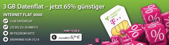 Bildschirmfoto 2017 01 30 um 13.35.38 Telekom LTE FLAT mit 3GB für 6,99€ mtl. oder 6GB für 9,99€ mtl.