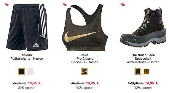 SportScheck Sale mit bis zu 70% + 10€ Extra Rabatt auf ALLES ab 50€
