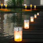 Solar LED Gartenlampen für je 16,90€ – 2er bis 8er Sets verfügbar