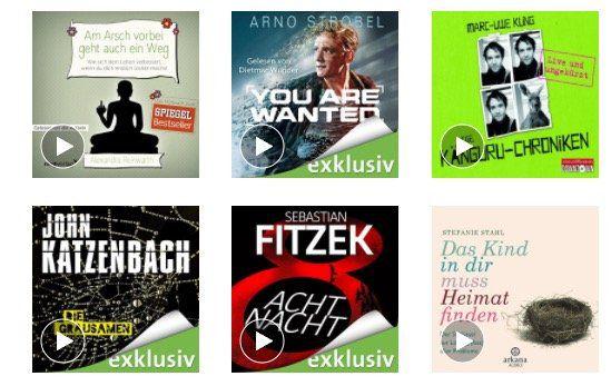 TOP! 3 Monate Audible gratis inkl. 3 Hörbücher   nur für Prime Mitglieder