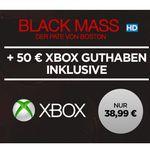 Xbox Live 50€ Guthaben + Black Mass als HD Stream für nur 38,95€