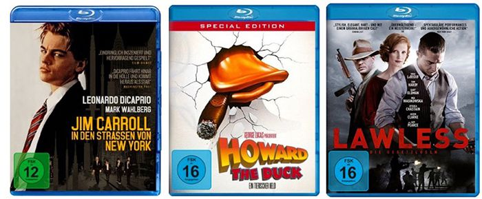 Blu rays 3 Blu rays für 15€ bei Amazon