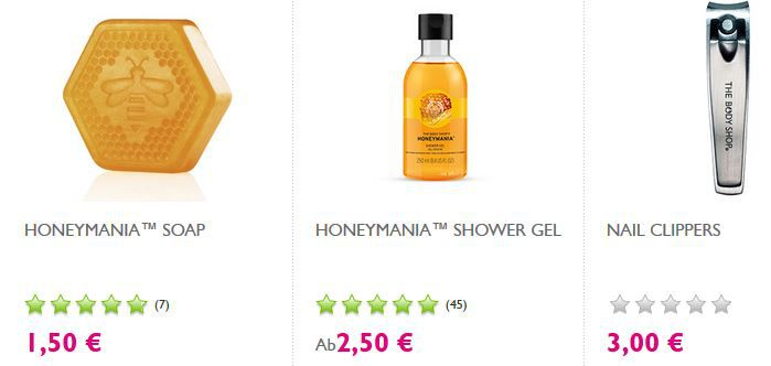 Body Shop Sale Sale The Body Shop: SALE bis 50% Rabatt + weitere 20% dank Gutschein + VSK frei ab 40€