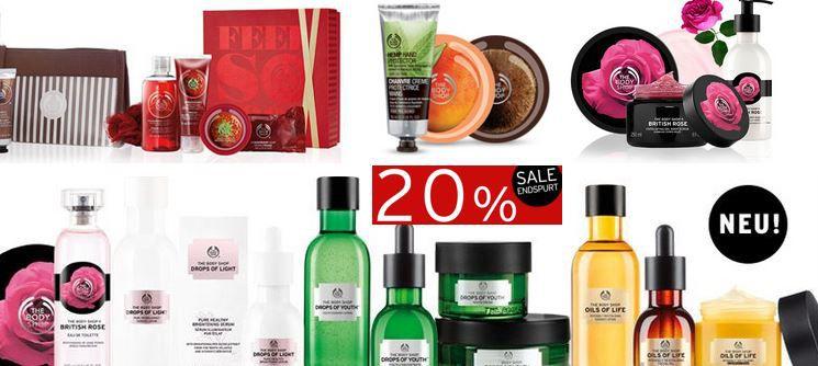 Body Shop Sle The Body Shop mit 25% Rabatt auf alles   auch im Sale