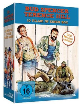 Bud Spencer Terence Hill Bud Spencer & Terence Hill (10 DVDs) ab 26,97€ (statt 43€)
