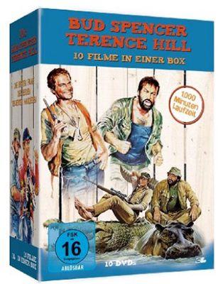 Bud Spencer & Terence Hill (10 DVDs) ab 26,97€ (statt 43€)