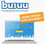 Nur für Telekom-Kunden: 1 Monat Busuu Premium kostenlos – Sprachen lernen leicht gemacht (Wert 14,99€)