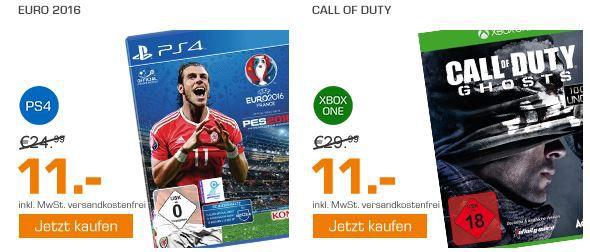 Call of Duty Sale DOOM UAC Pack   Konsolen und PC für 29€ und mehr günstige Games im Saturn Weekend