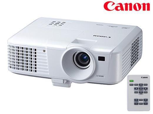 Canon LV WX300 Canon LV WX300 Beamer (HD ready, 3000 Lumen) für nur 335,90€
