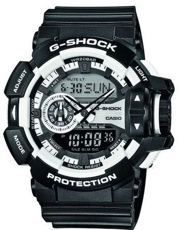 Casio Resin GA 400 1AER Casio G Shock Resin   Herren Armbanduhr für 87,20€