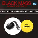 Chromcast 2 Mediaplayer + BLACK MASS Mafia Film in HD für 24,99€