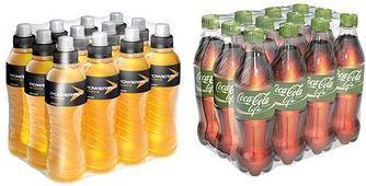 Coca Cola green Erfrischungsgetränke bis zu 30% reduziert   heute günstige Cola, Powerade, Lift u.a.
