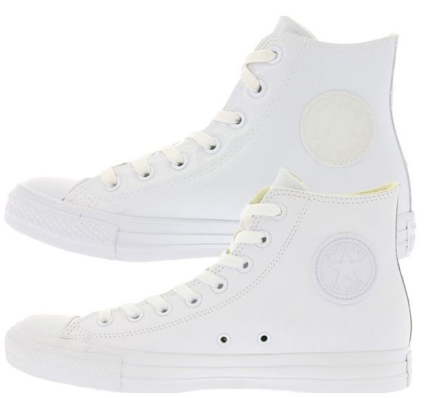 Converse Chuck Taylor All Star Leather Hi Sneaker Converse Chuck Taylor All Star Leather Hi Sneaker für Damen und Herren für 27,99€ (statt 43€)