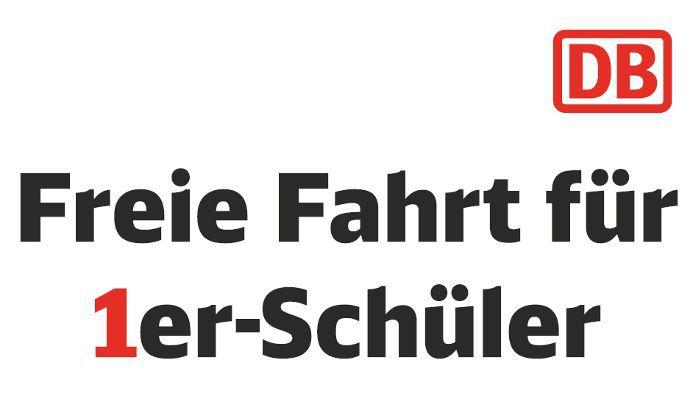 DB 1er Schüler Bayern: Kostenlos Zugfahren (IRE, RE, RB, S) für alle Einser Schüler   Nur am 01.08.