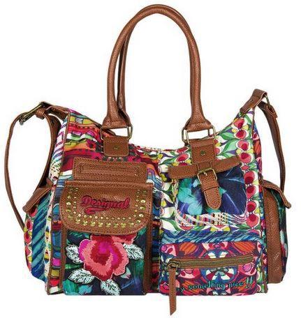 Desigual Bols London Yamileth   Damen Handtasche für 39,95€