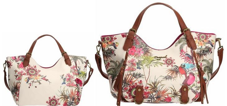 Desigual Bols Rotterdam New Tropic Handtasche statt 61€ für 45,81€