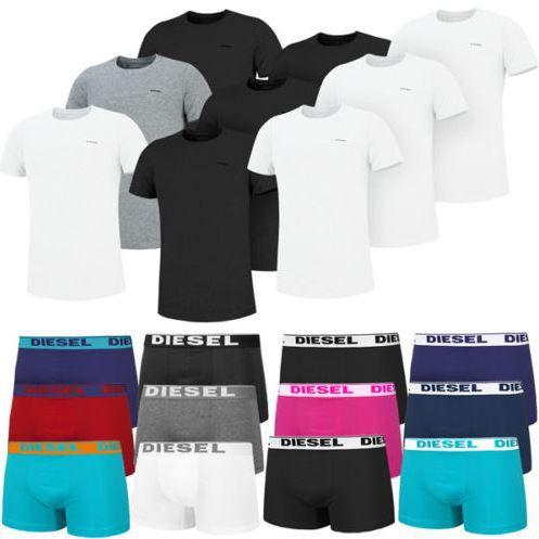 Diesel Herren unterwäsche Diesel 3er Pack T Shirts oder Boxershorts für je Set 28,90€   TOP!