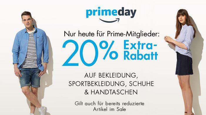 Fashion extra Rabatt 20% Extra auf alle Mode Artikel + SALE + reduzierte Einzelangebote HOT!