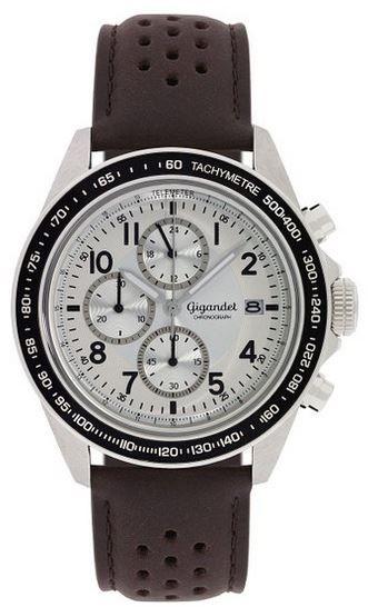 Gigandet Racetrack G24 008 Gigandet G24 008 FastTrack Herren Uhr mit Mineralglas und Miyota Kaliber SJ25 statt 127€ für 87,81€