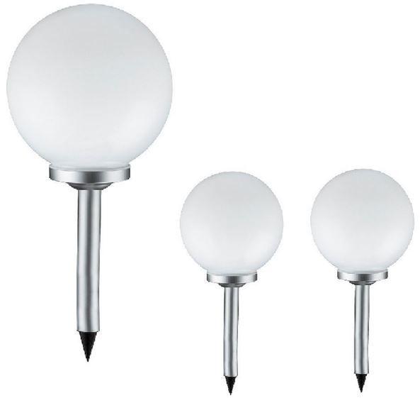 Grafner sk102z Grafner sk102z   3er Set Solar Gartenlampen 15cm Durchmesser für 14,90€